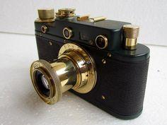 Vintage Russian RF 35mm Camera Leica II D Olympiada Berlin 1936 WWII Excellent | eBay