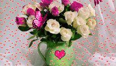 Όμορφη καλημέρα σε όλους με όμορφες eikones.top...! GIFs - eikones top Good Morning Good Night, Floral Wreath, Gifts, Presents, Flower Garlands, Favors, Flower Band, Floral Arrangements, Gift