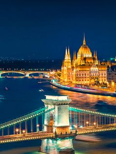 One of the most beautiful cities in europe, budapest's attractions inc Budapest City, Budapest Hungary, Cities In Europe, World Cities, Most Beautiful Cities, Wonderful Places, Danube River Cruise, Buda Castle, British Travel