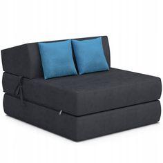 Fotel kanapa rozkładany materac sofa z poduszkami - 239 zł - Allegro.pl - Raty 0%, Darmowa dostawa ze Smart! - Bralin - Stan: nowy - ID oferty: 8656517598 Stan, Couch, Bed, Furniture, Home Decor, Settee, Decoration Home, Sofa, Stream Bed