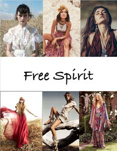 Fashion Through My Camera : Free Spirit Mood Board