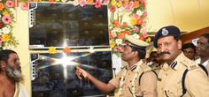 """""""CCTV Control room inaugurated at Jangaon Telangana – The Additional DGP M Gopikrishna has launched a control room for a network of 54 CCTVs at Jangaon town. The local traders came forward to install cameras following a call from  Commissioner of Police G Sudheer Babu to prevent acts of crime by ensuring effective surveillance in the streets of the town, which falls under the limits of Warangal police Commissionerate. Credits…"""