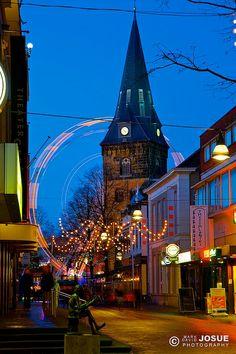 Kenmerkende aspecten van een typisch Nederlandse straat. Enschede