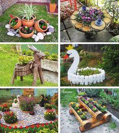 Ideias para o Jardim - CraftIdea.