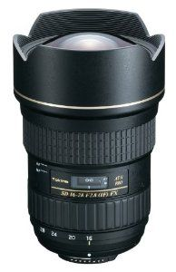 Tokina AT-X 16-28mm f/2.8 Pro FX Lens for Nikon by Tokina. $749.00. This Tokina lens is the first in a new generation of full frame (FX) lenses designed for professional digital SLR cameras like the Canon EOS 5D Mark II and the Nikon D700 and D3x. The 16-28 zoom range gives the professional photographer a super-wide angle of view to get close to subject for dramatic effect or to take in entire scenes.  FEATURES:    Silent DC Motor with GMR senor - The 16-28 f/2.8 uses a newly de...