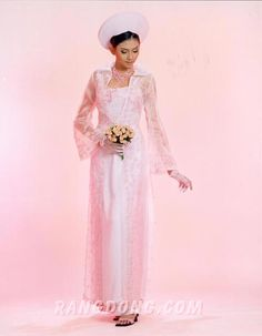Ao dai. A great reception dress to change into!