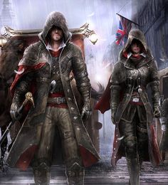 Jacob and Evie Frye, Assassins Creed Syndicate Art