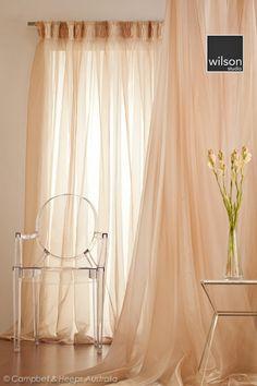 Sheer bedroom curtains