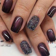 Pink Nail Designs, Simple Nail Art Designs, Winter Nail Designs, Pink Nail Art, Pink Nails, Trendy Nails, Cute Nails, Nagellack Design, Green Nails