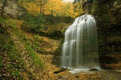 Tiffany's Falls  Ontario  Canada