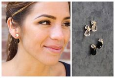 Cut Gem Earring Sets!