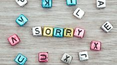 Sorry pebbles aligned in a manner Apology Quotes For Him, Sorry Images, Apologizing Quotes, Friends Clipart, Friends Image, Custom Wallpaper, Manners, Clip Art, Messages