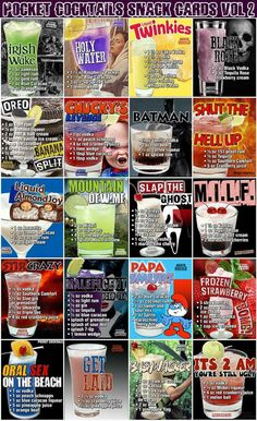 Candy Drinks, Liquor Drinks, Cocktail Drinks, Beverages, Bartender Drinks, Cocktail Recipes, Mixed Drinks Alcohol, Alcohol Drink Recipes, Punch Recipes