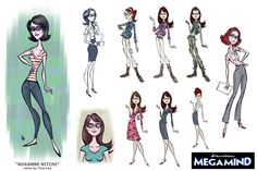 dreamworks character design - Google Search