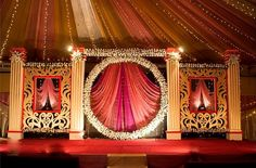 Desi wedding decor