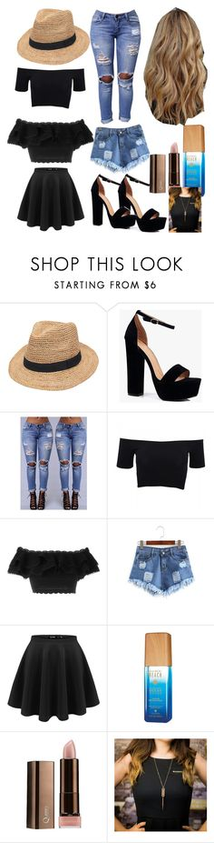 """""""beach time!"""" by colonkairee on Polyvore featuring Gottex, Boohoo, American Apparel, Alexander McQueen, Alterna and COVERGIRL"""