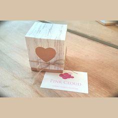 #Wedding#μπομπονιερα#pink cloud#box#heart