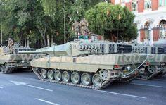 Leopard 2E MBT, BRIAC XII, Ejército de Tierra, Spain #rojoygualda