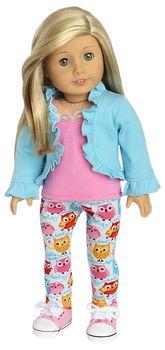 American Girl Doll Legging Set