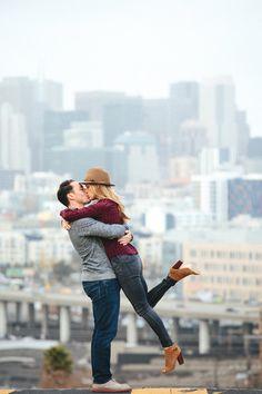 San Francisco Engagement by Paige Jones