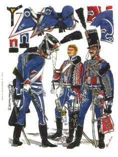 reg nr 8 huzaren Waterloo