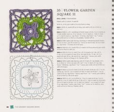 And the square crochet motifs. Discussion on LiveInternet - Russian Service Online Diaries