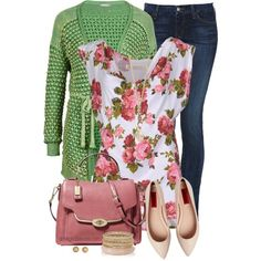 Floral for Spring, created by spherus on Polyvore