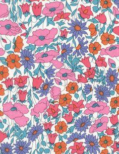 La plus belle collection de tissus Liberty.: 4095 Poppy and Daisy