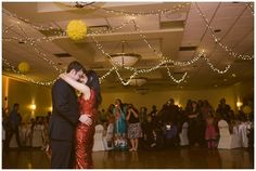 Bride and Groom's first dance at Glenmore Inn wedding reception. Calgary wedding photos by Sujata Photography.
