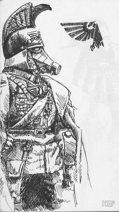 Death Korps of Krieg Commander.