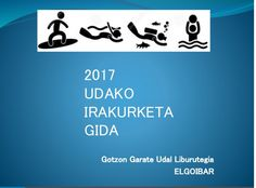 Elgoibarko liburutegiaren 2017 udako irakurketa gida. Guía de lectura de la biblioteca de Elgobiar para el verano 2017
