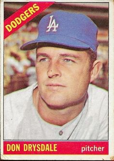 1966 Topps Don Drysdale