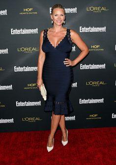 Natasha Henstridge Photos - Entertainment Weekly's Pre-Emmy Party  - Zimbio