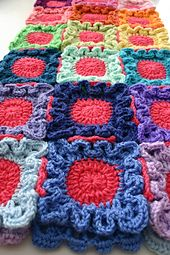 Ravelry: Doodle Dots Blanket pattern by Susan Carlson $5.50