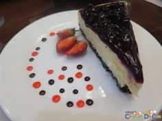 Chez Marie Bar Café and Restaurant: Serving the Best French-Italian and Fusion Cuisine in Cagayan de Oro Blueberry Cheesecake, Restaurants, Bar, Desserts, Food, Cagayan De Oro, Baked Blueberry Cheesecake, Tailgate Desserts, Deserts