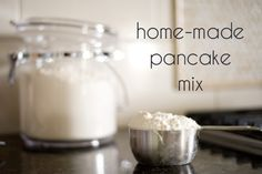 I always make my pancakes from scratch, but I never thought to make a bulk mix my dry ingredients...  thx :-)
