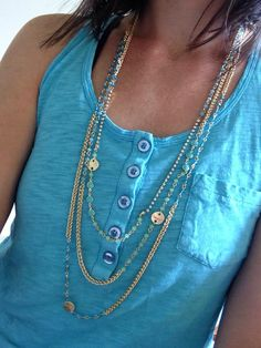 Luv this necklace from Fibi & Clo