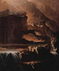 Sadak in Search of the Waters of Oblivion by John Martin, 1812