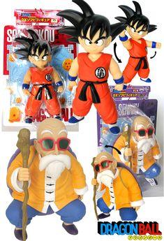 Pack 2 figuras Goku y Kame Sennin 25 cms. Dragon Ball Z