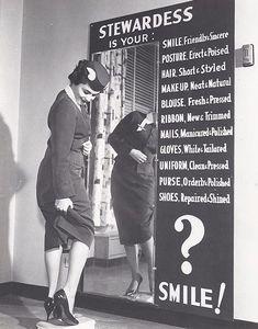 Stewardess/Flight Attendant Guidelines, 1960