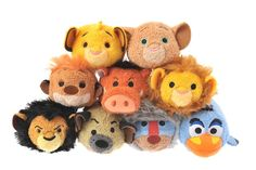 The Lion King Tsum Tsum collection is coming to Japan late January 2017!