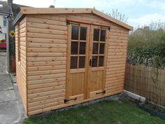 8ft x 10ft Wooden Summerhouse