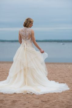 Searching for a unique gown? This GEORGINA gown from @eabridalinc takes the cake!
