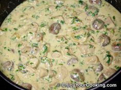 Creamy mushroom sauce recipe for pasta - Pasta man recipes Quick Recipes, Sauce Recipes, Quick Meals, Meat Recipes, Pasta Recipes, Chicken Recipes, Healthy Recipes, Pasta Meals, Mushroom Sauce For Chicken