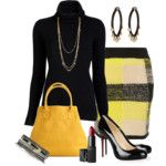 stripes and tortoise - Polyvore