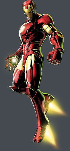 Iron Man by Shinkiro *