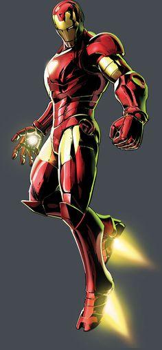Iron Man by Shinkiro * - Marvel Vs. Capcom 3