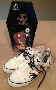 The Nightmare Before Christmas, Tim Burton, Shoes