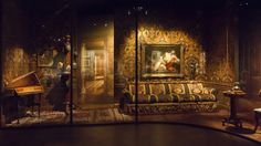 Reconstitution de l'appartement parisien de Rudolf Noureev © CNCS / Photo Pascal François Nureyev, Le Moulin, The Prestige, Interior Inspiration, Photos, Painting, Interiors, Collection, Rudolf Nureyev