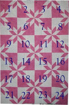 Clear tutorial for a neat looking block that breaks down to half square triangles! The possibilties are endless with thousands of fabrics to choose from at the Fabric Shack at http://www.fabricshack.com/cgi-bin/Store/store.cgi Repined: Hunter's Star Quilt Instructions
